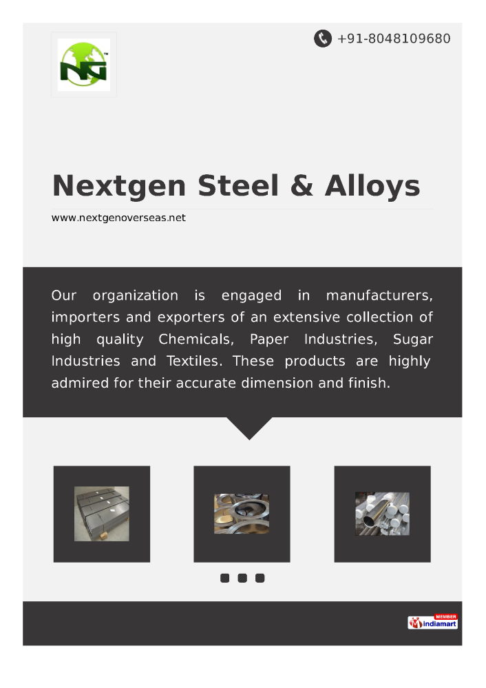 NextGen Steel & Alloys