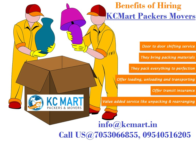 KCMart packers and Movers in Delhi